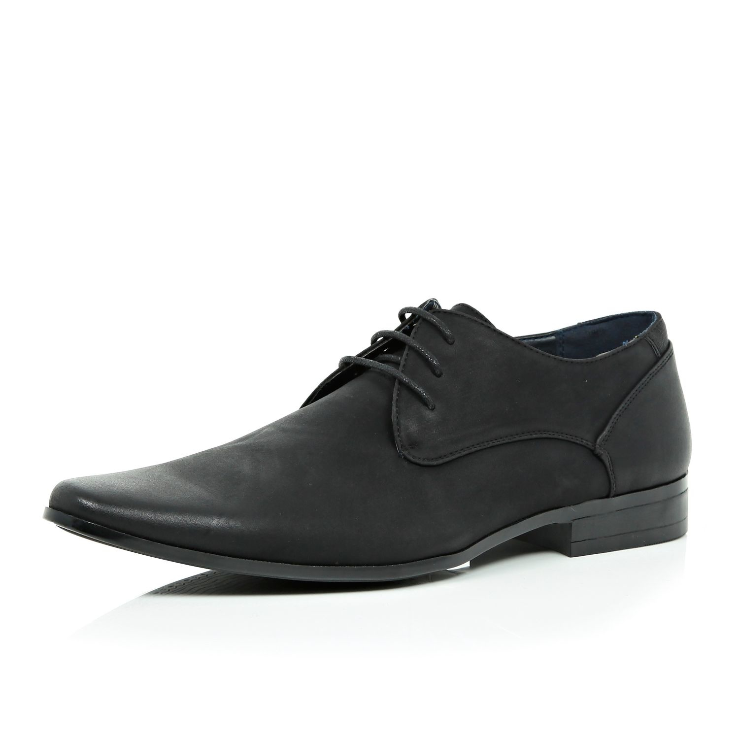 River Island Smart Shoes In Black