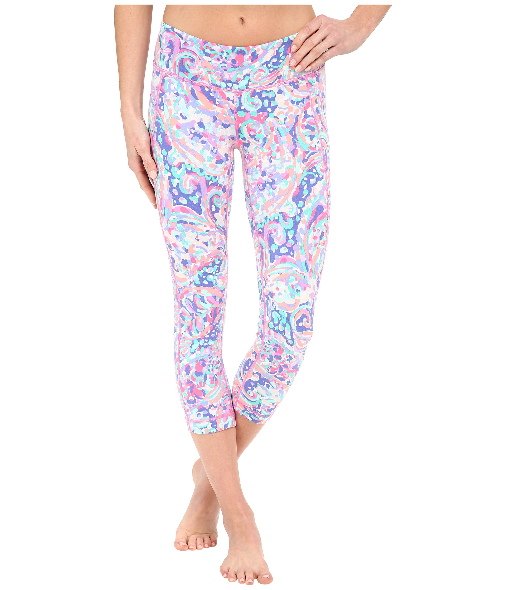 0b3dd69295f22 Lilly Pulitzer Weekender Cropped Pants - Lyst