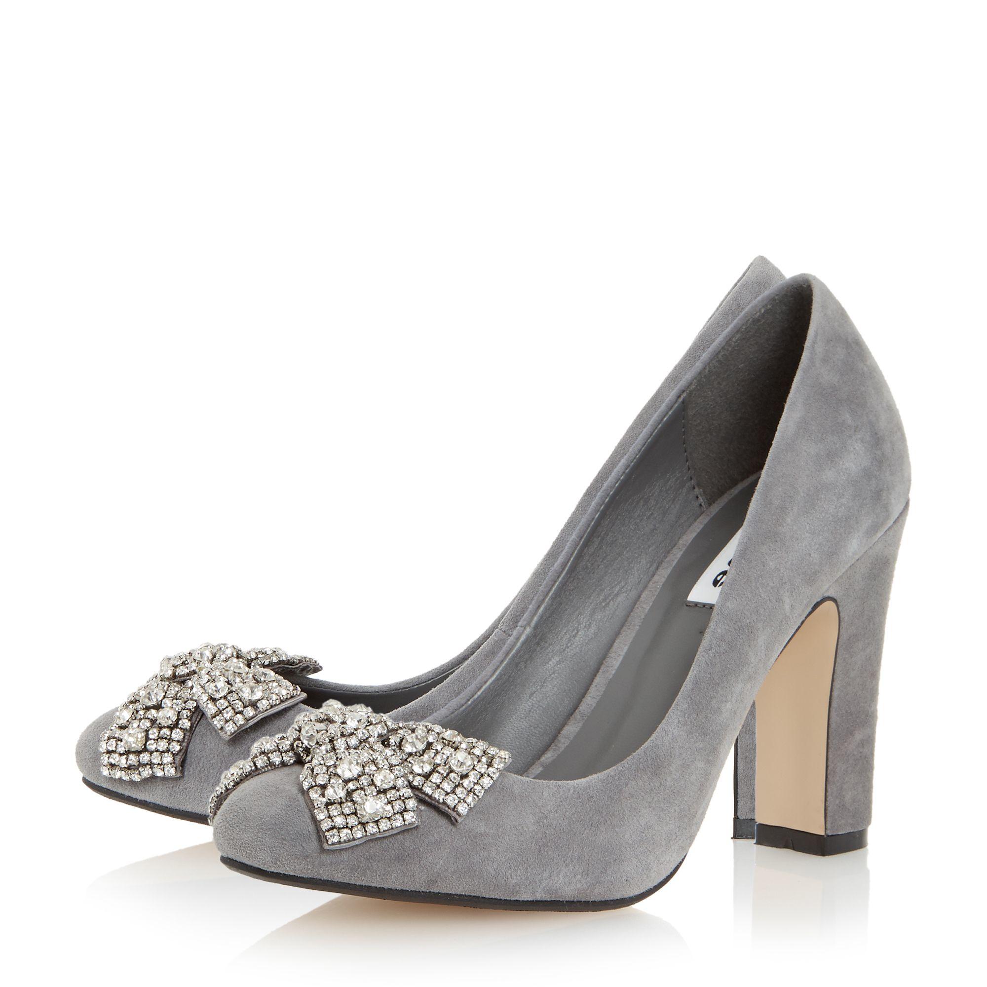 Black Suede Platform Shoes By Dune