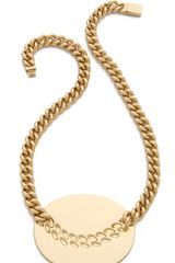 Maison Martin Margiela Chain Necklace - Lyst