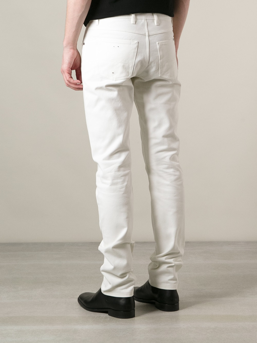 Tom ford Slim Fit Jeans in White for Men | Lyst