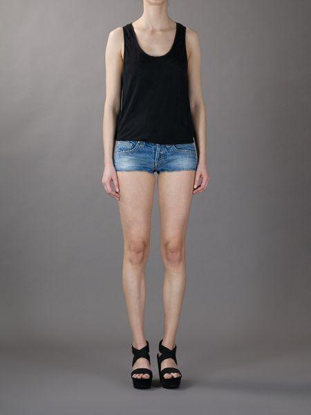 denim micro shorts - photo #34