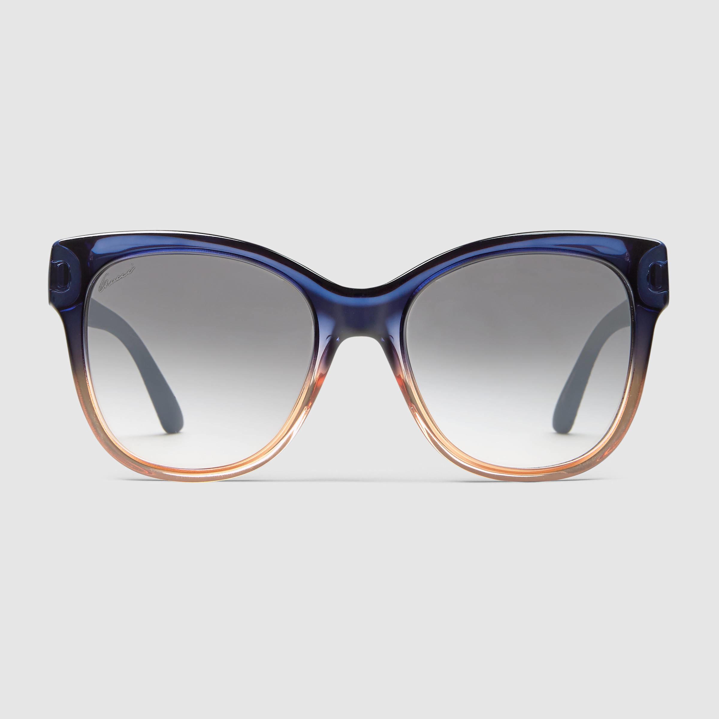 square frame sunglasses - Brown Gucci FHyi4