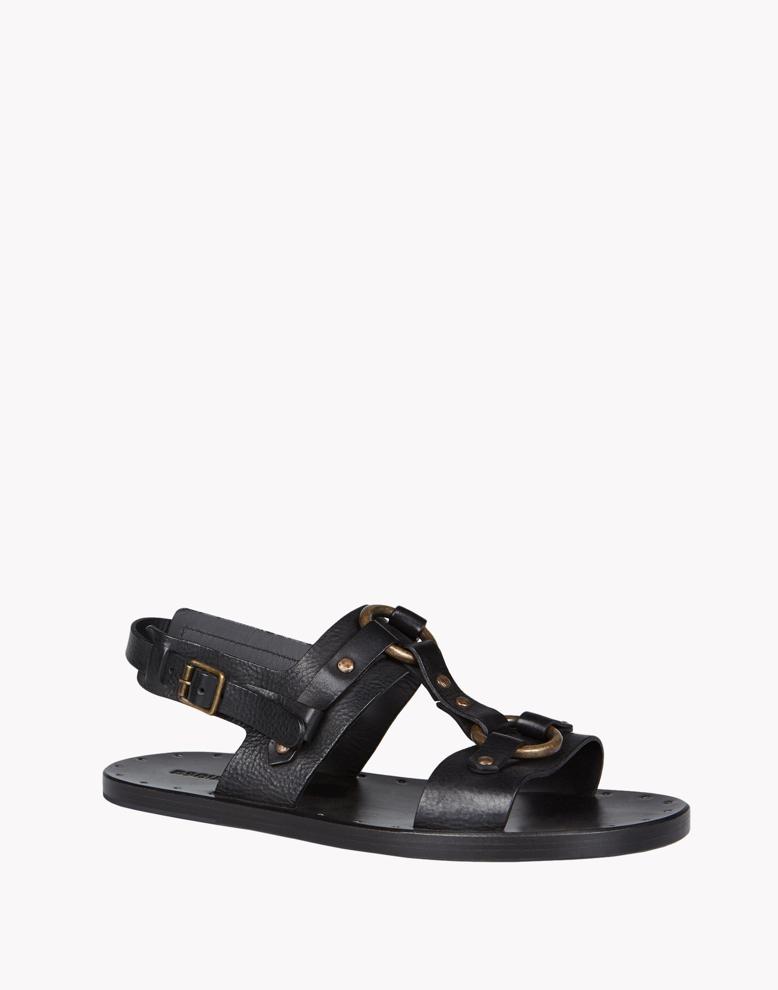 Dsquared 178 Moses Sandals In Black For Men Lyst