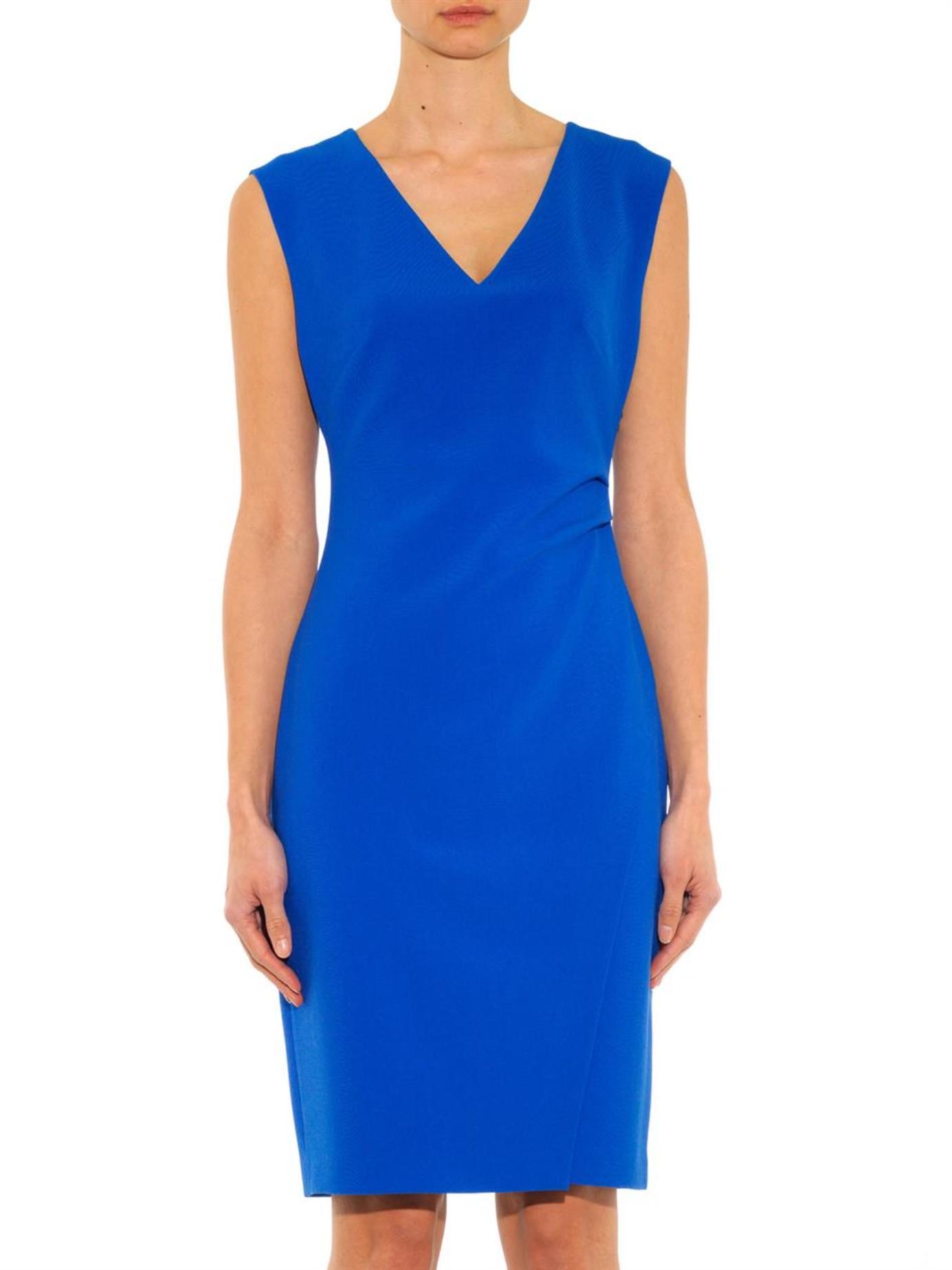 Diane von furstenberg Megan Dress in Blue - Lyst