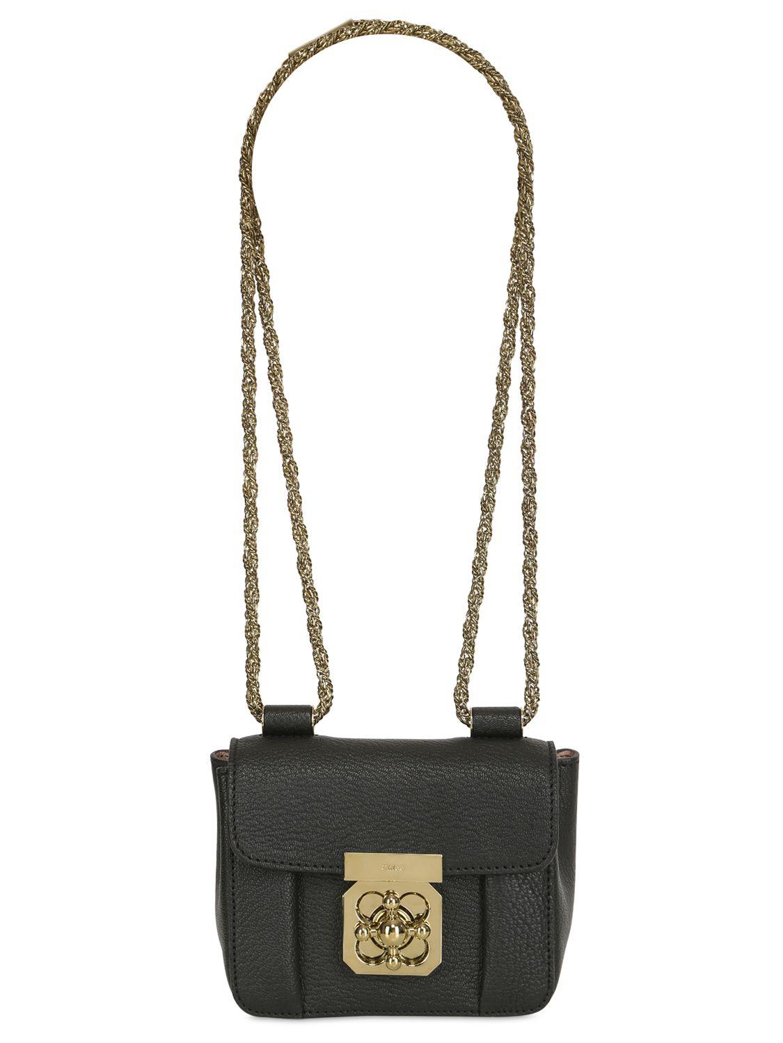 elsie bag in grained leather