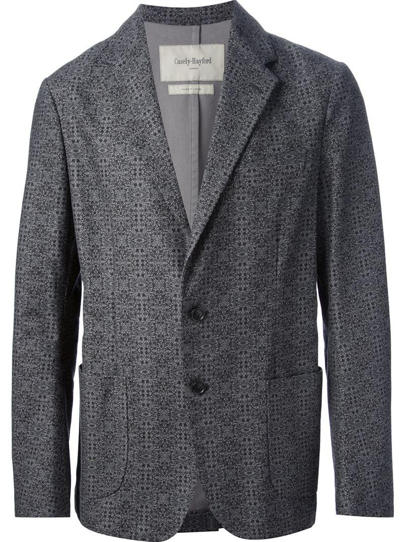 Casely Hayford 2sb Blazer In Blue For Men Lyst