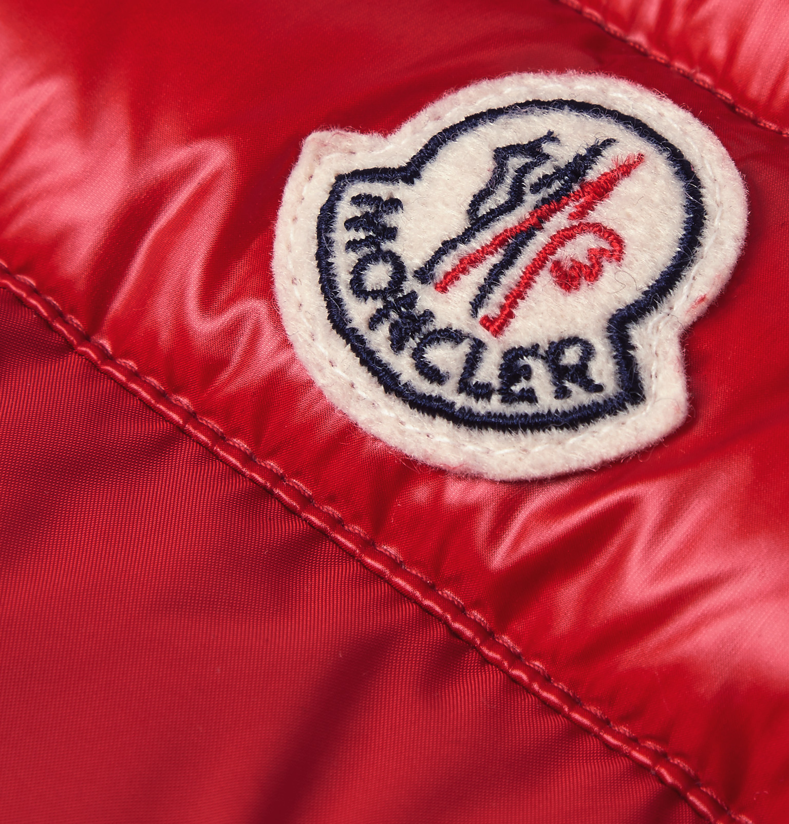 20e0c8f47dd7 Moncler Dupres Quilted Shell Down Gilet in Red for Men - Lyst