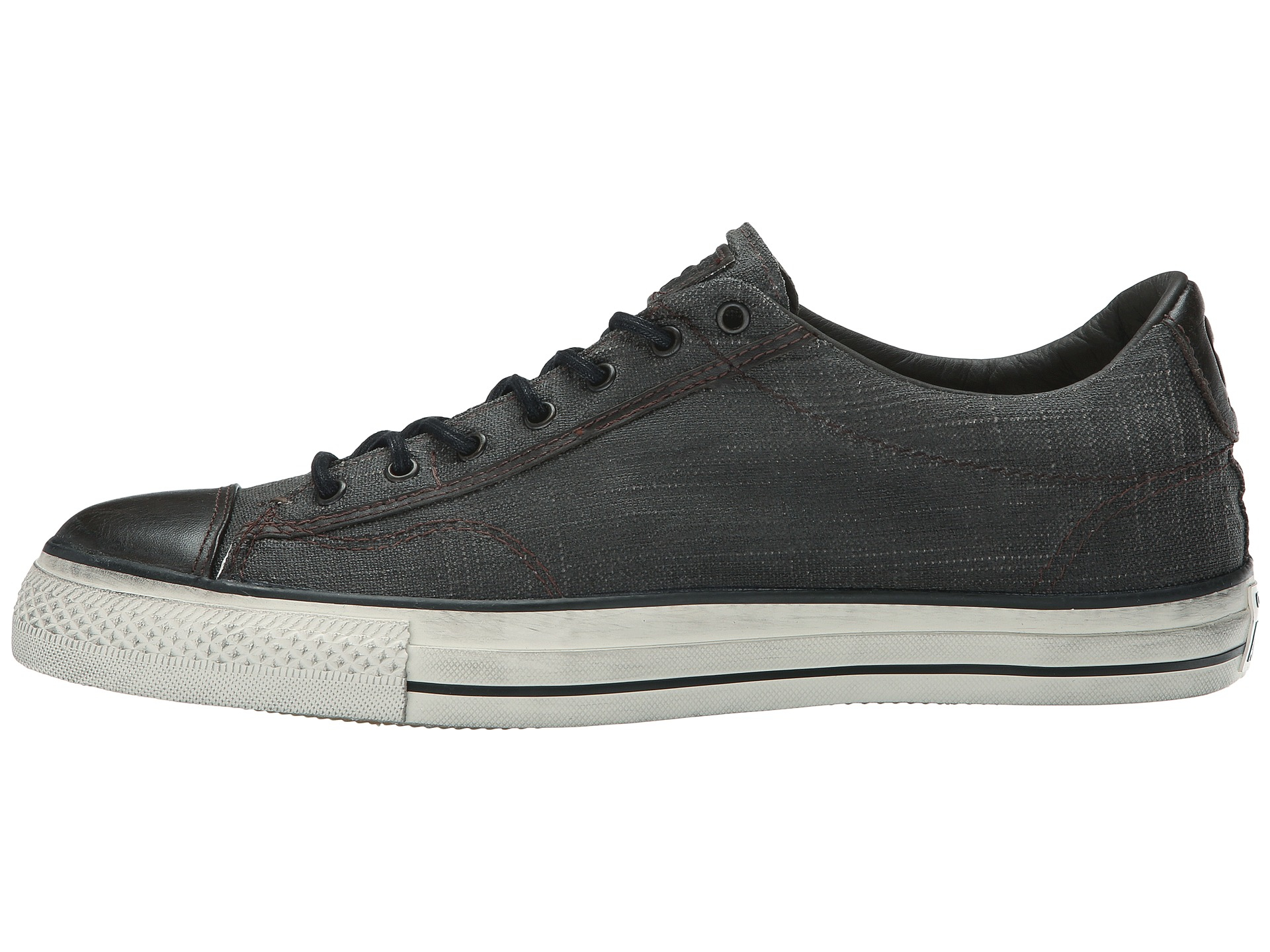 ef87aff65943 Lyst - Converse Chuck Taylor All Star Vintage Ox - Coated Canvas in ...