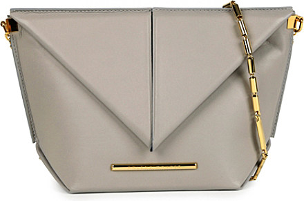 Roland Leather Classico Lyst Body Gray Bag Mouret Origami Cross In TF5ulcK1J3