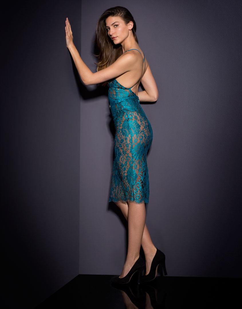 Lyst - Agent Provocateur Rosette Dress Blue In Blue-3208