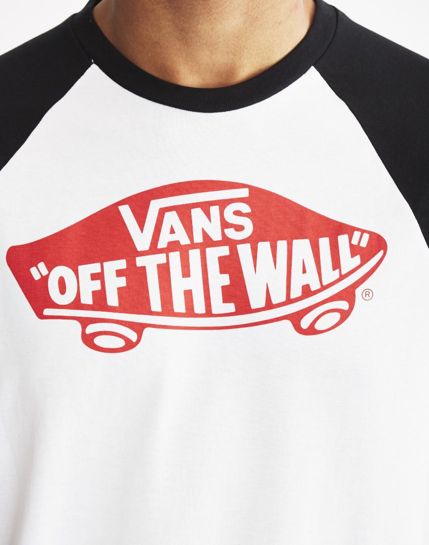 7a8cfe86c9 Lyst - Vans Otw Raglan T-shirt White in White for Men