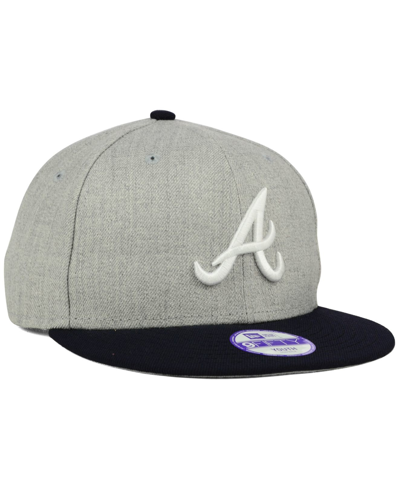 save off 6616a 1a388 ... promo code for lyst ktz kids atlanta braves lil heather 9fifty snapback  cap in 69281 4144b
