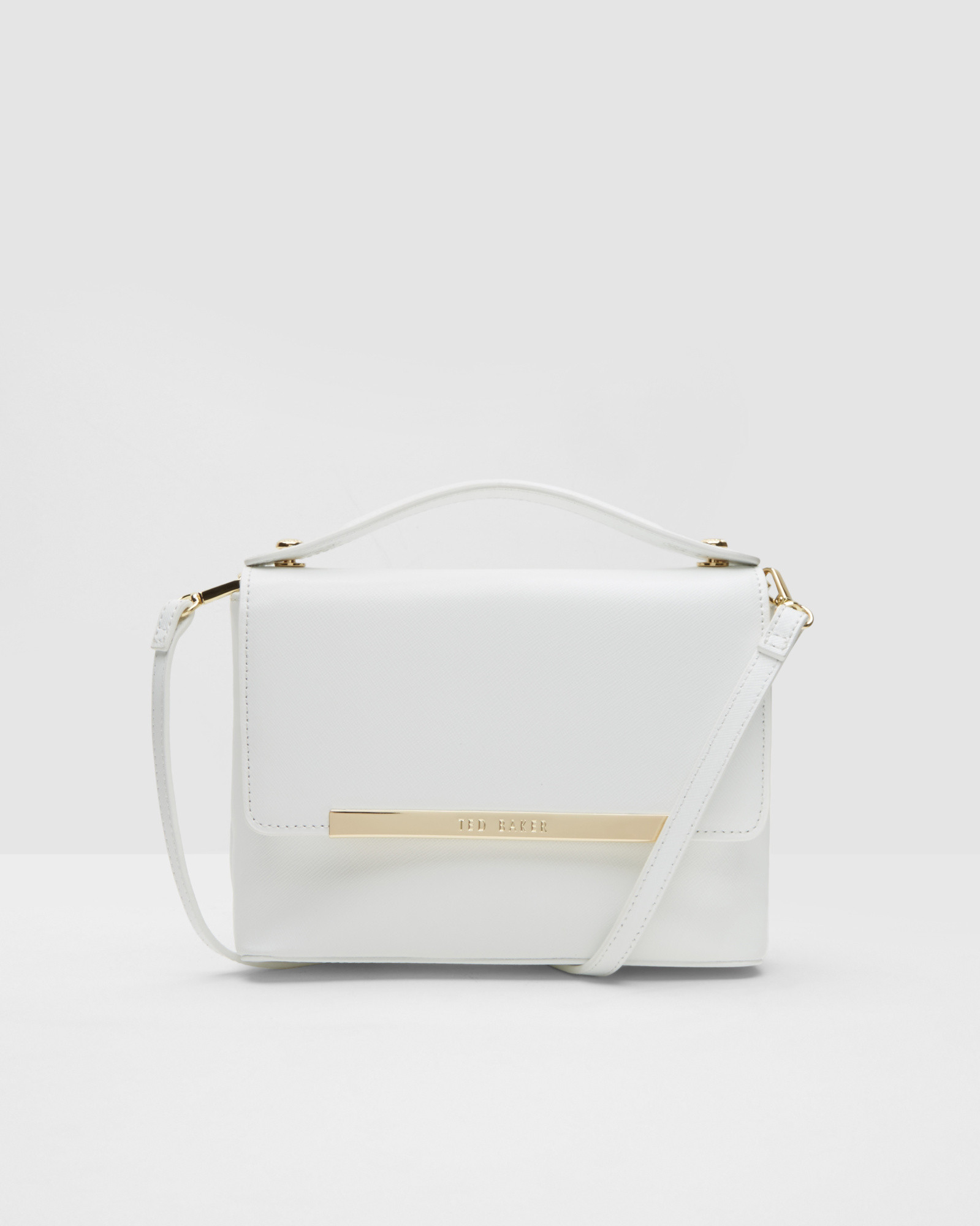 1b0f34310fd7e White Leather Ted Baker Purse - Best Purse Image Ccdbb.Org