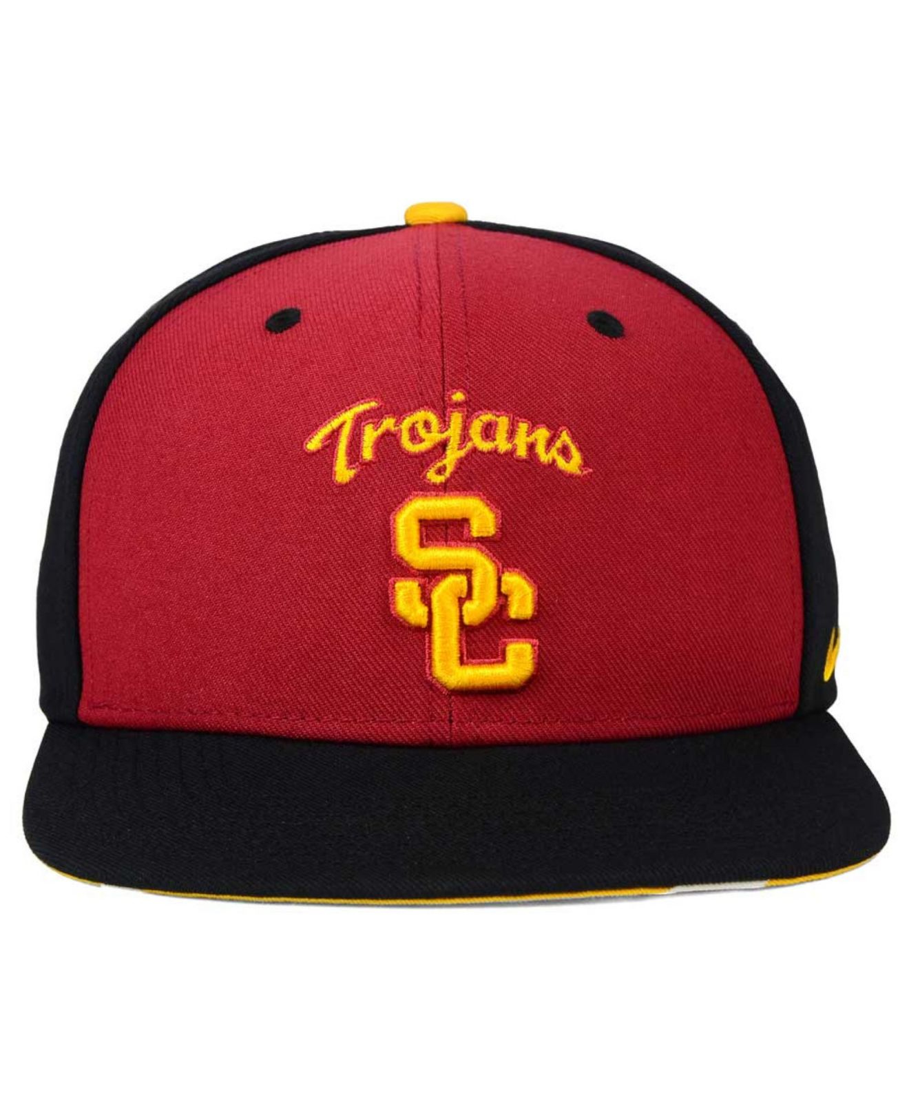 58a185b1632 ... where can i buy lyst nike usc trojans pro verbiage snapback cap in  black for men