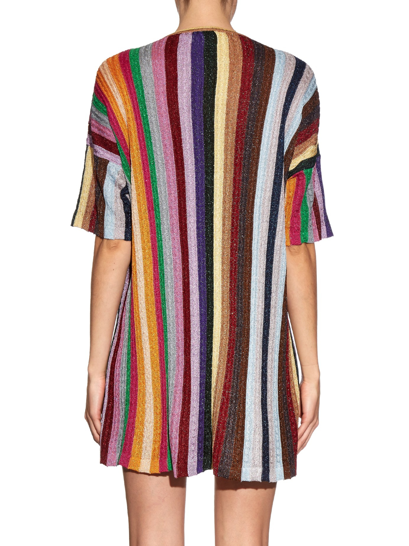 striped dress - Multicolour Marco De Vincenzo rBjXugYr