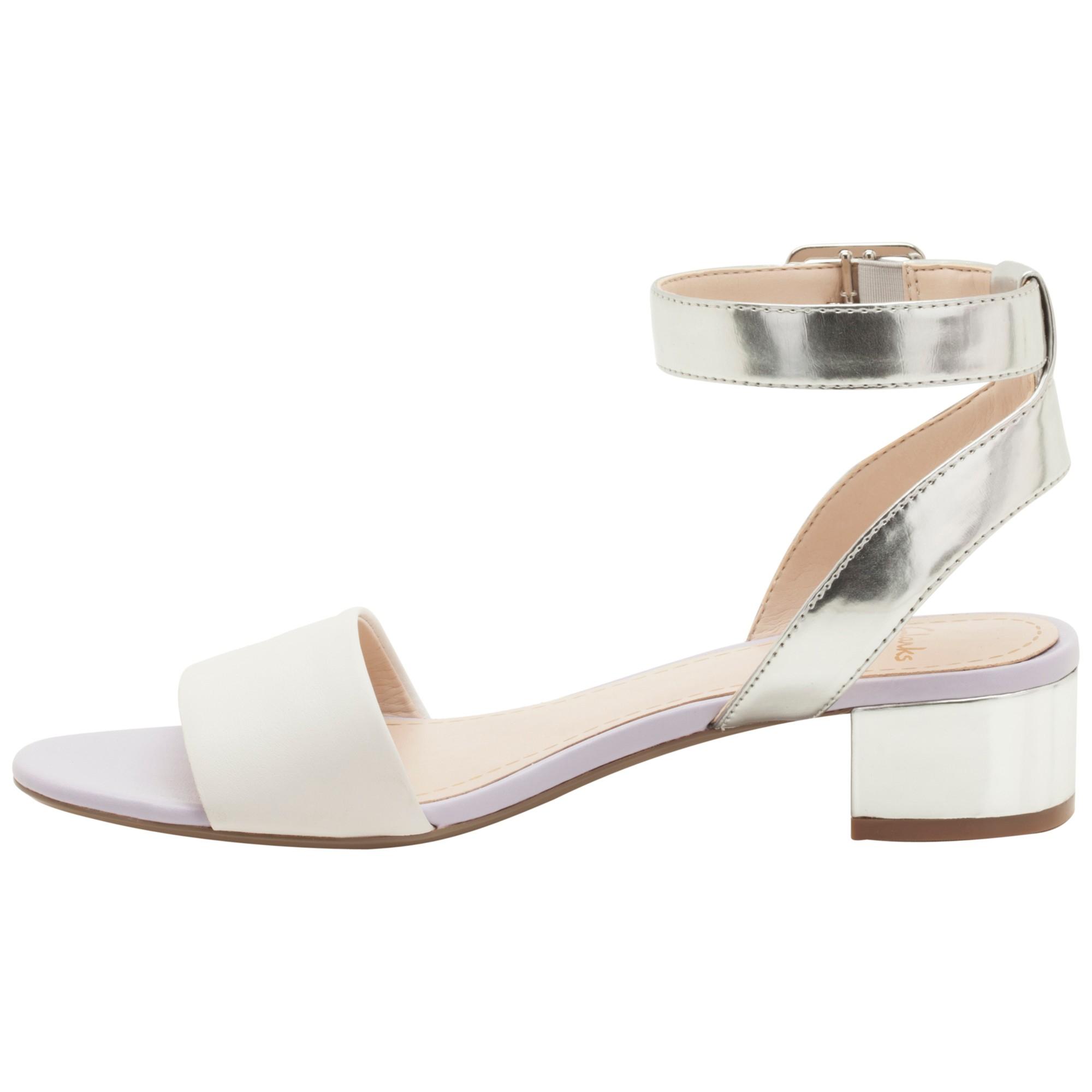6d91d41d8b22 Clarks Sharna Balcony Sandals in White - Lyst