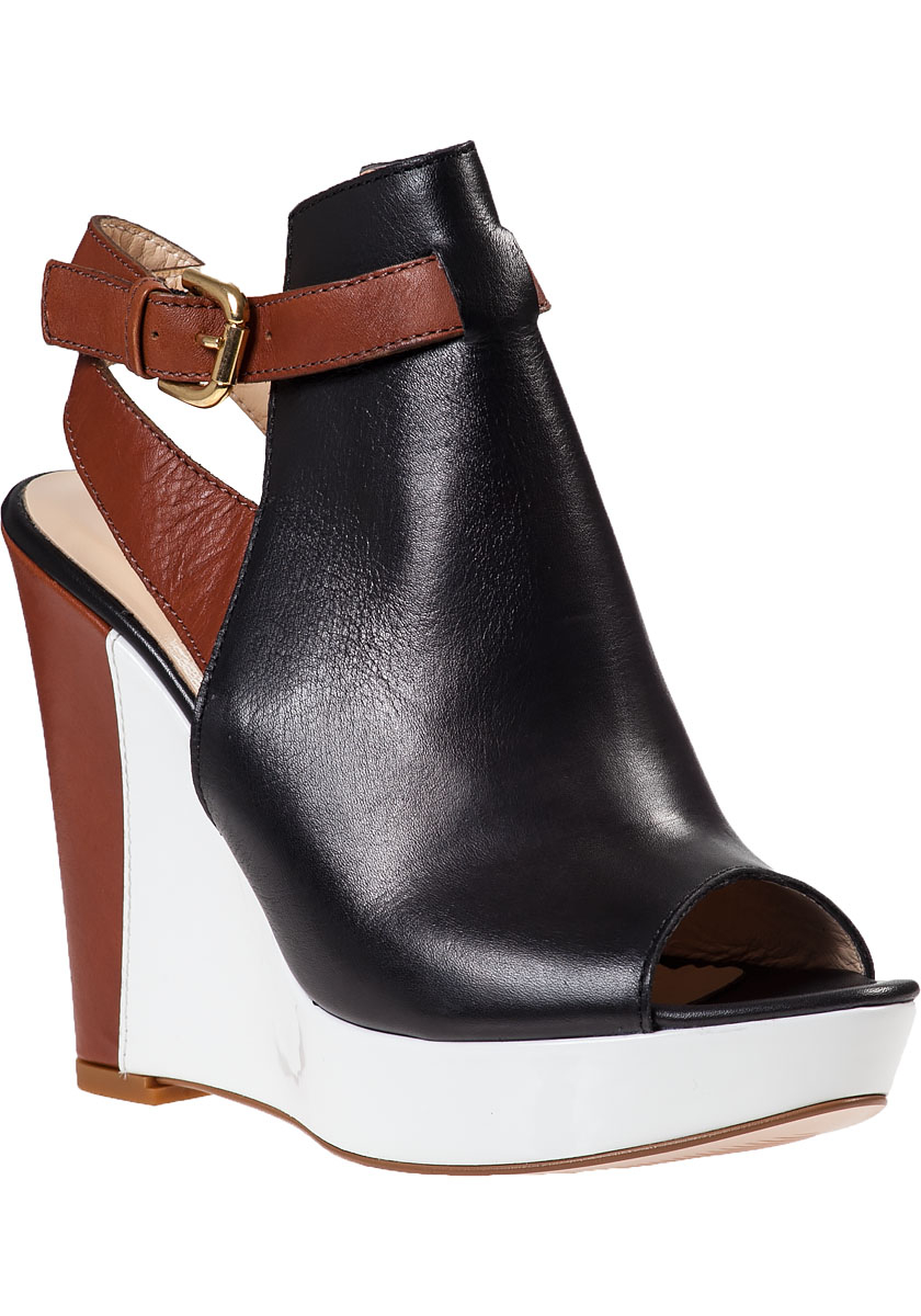 Black Wedge Sandals. Showing 48 of results that match your query. Search Product Result. Product - Michael Michael Kors Somerly Wedge Women Open Toe Leather Black Wedge Sandal. Product Image. Price $ Product Title. Michael Michael Kors Somerly Wedge Women Open Toe Leather Black Wedge Sandal.