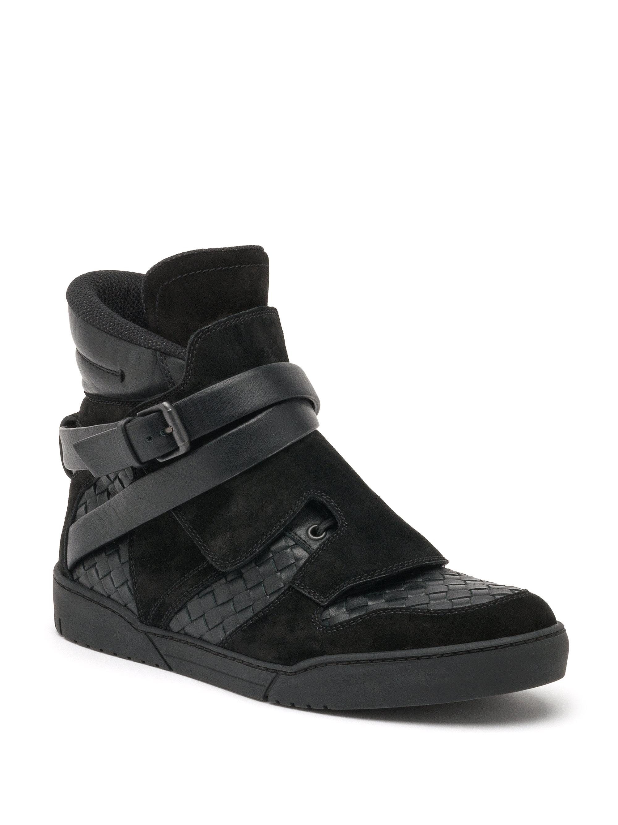 Bottega Veneta Black Suede Shoes Men
