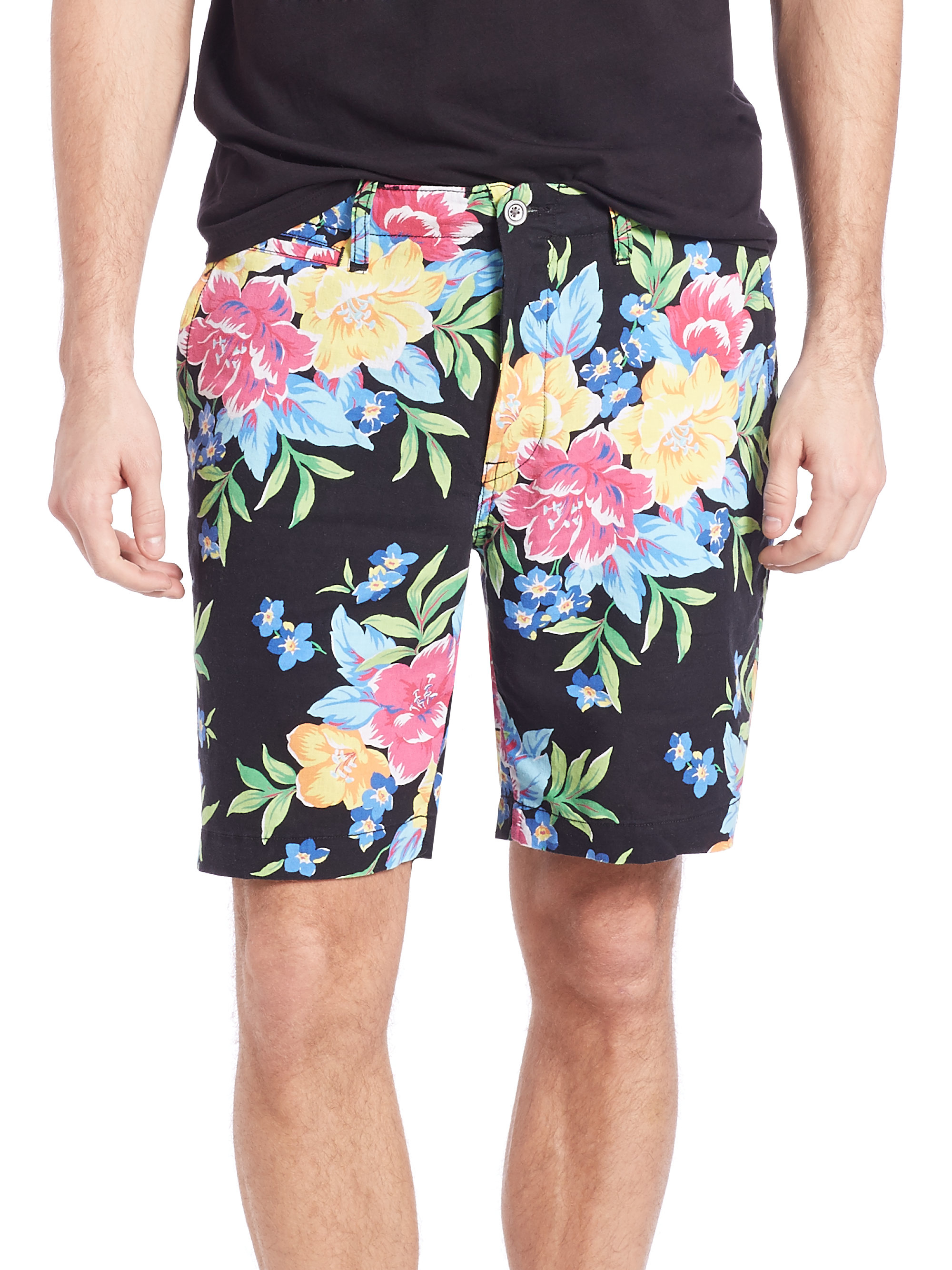 Lyst Polo Ralph Lauren Maritime Floral Print Shorts In