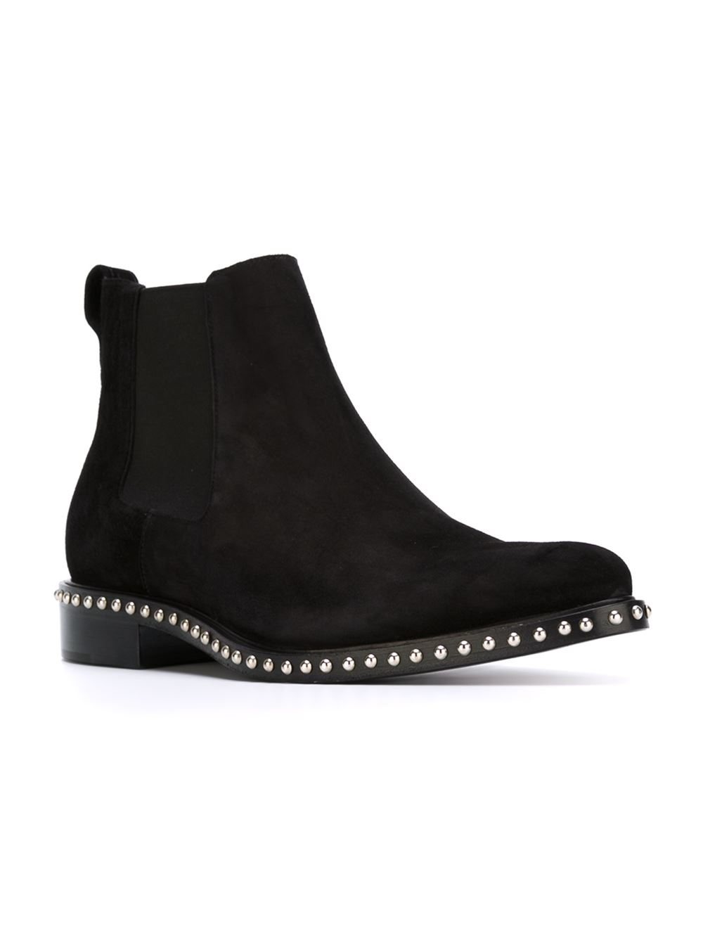 Lyst Givenchy Studded Chelsea Boots In Black For Men