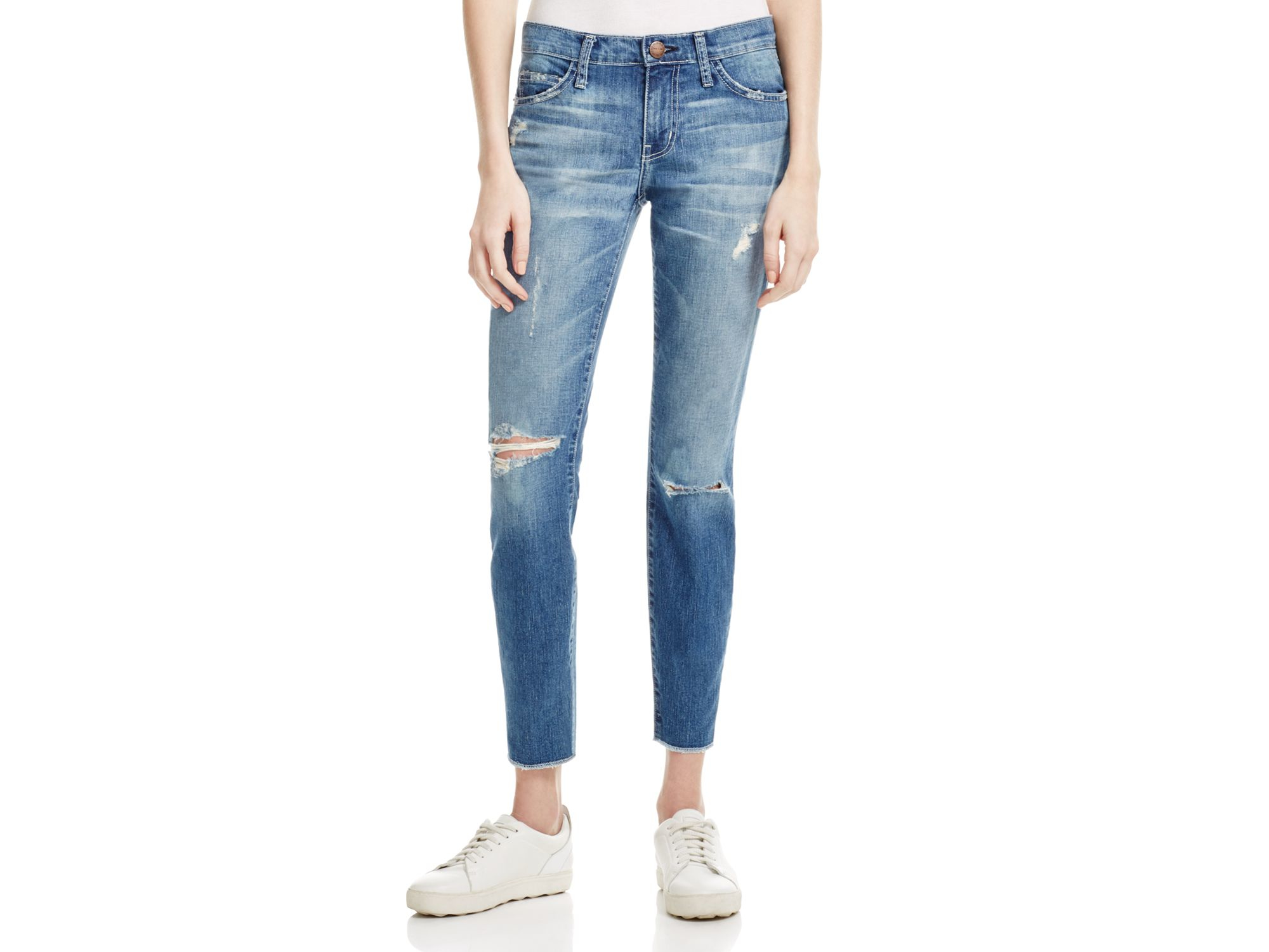 Current Elliott The Stiletto Jeans In Mary Jane Destroy In