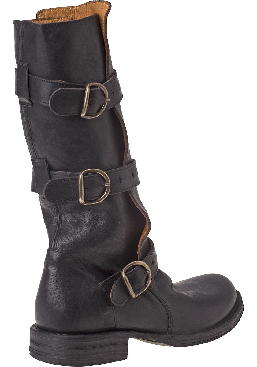 fiorentini baker eternity 7040 boot black leather in. Black Bedroom Furniture Sets. Home Design Ideas