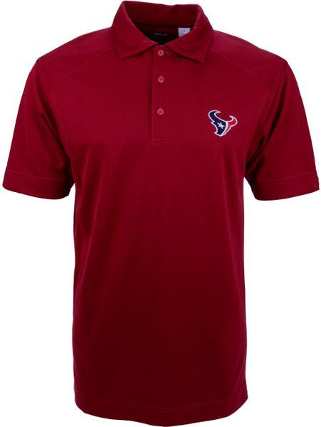 Cutter Buck Red Men 39 S Short Sleeve Houston Texans Polo