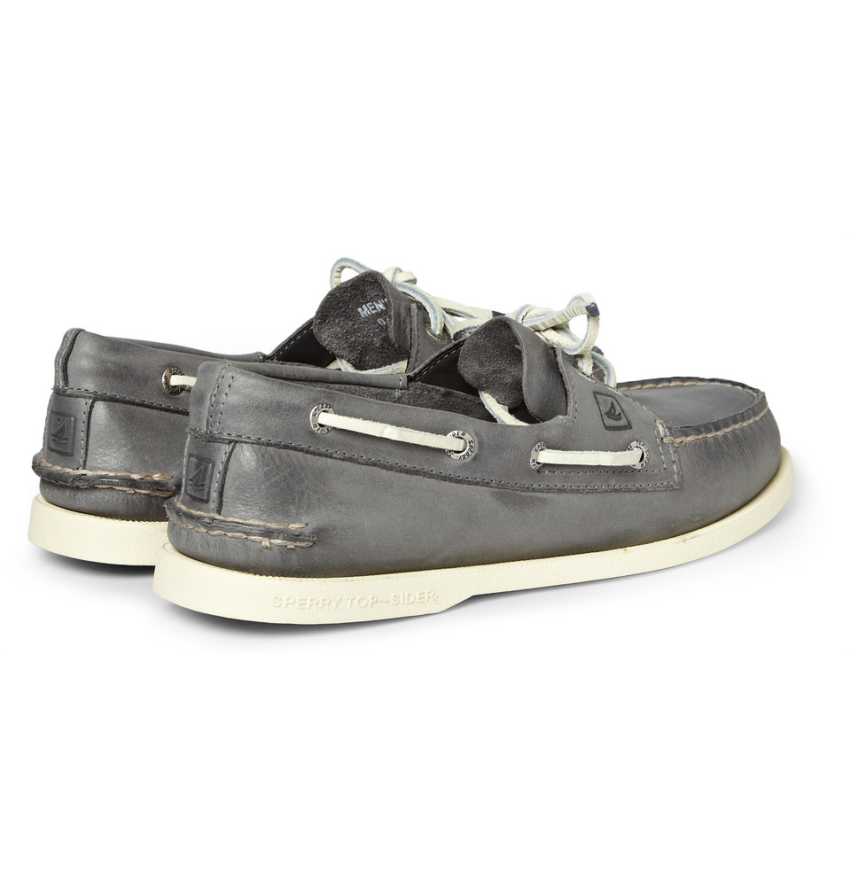 Authentic Original Burnished-leather Boat Shoes Sperry Top-Sider Super Clearance Sale Popular Online Free Shipping Cheapest Price kIXYlKv