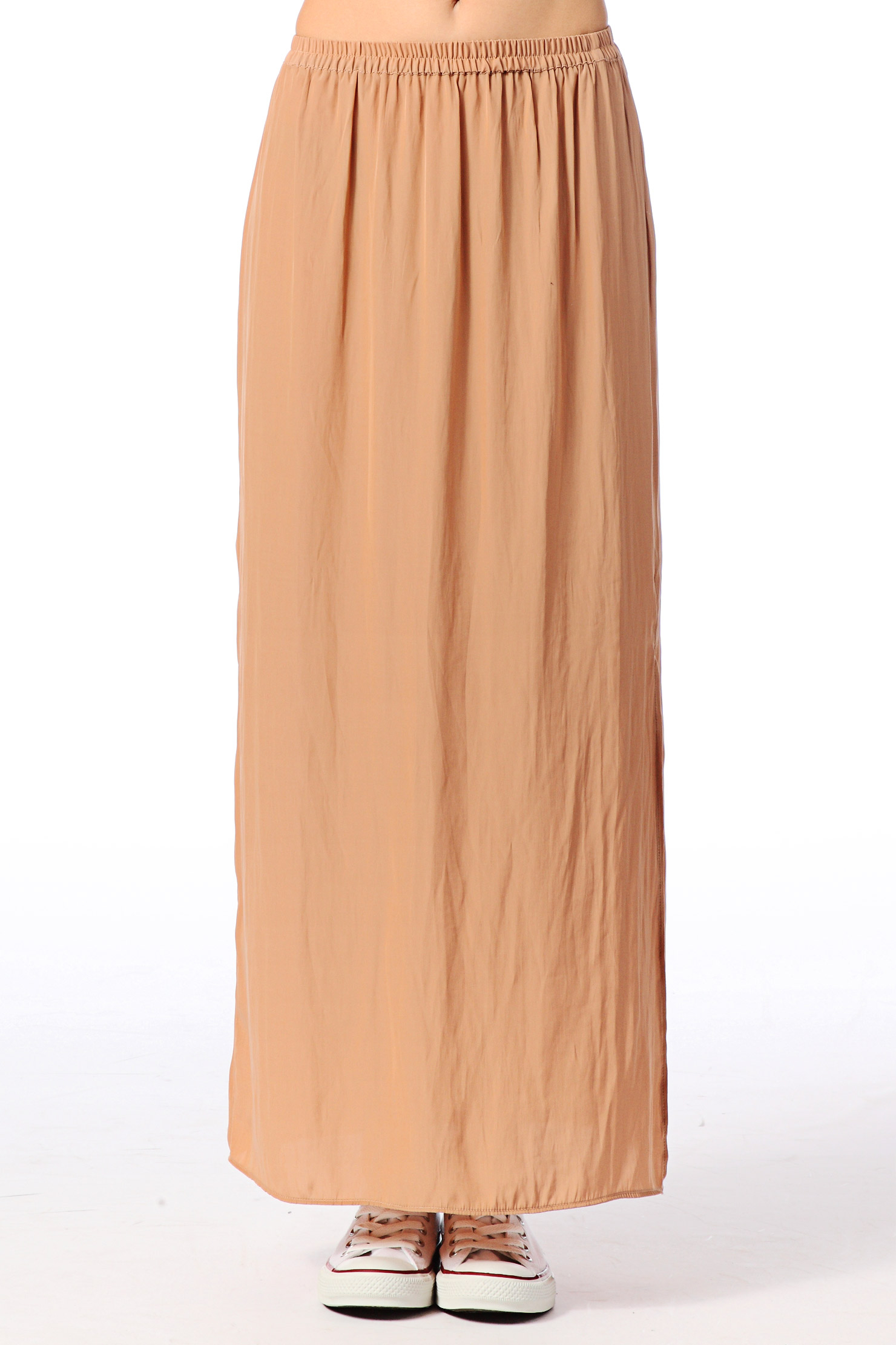 american vintage midi skirt maxi skirt zac186be14 in brown