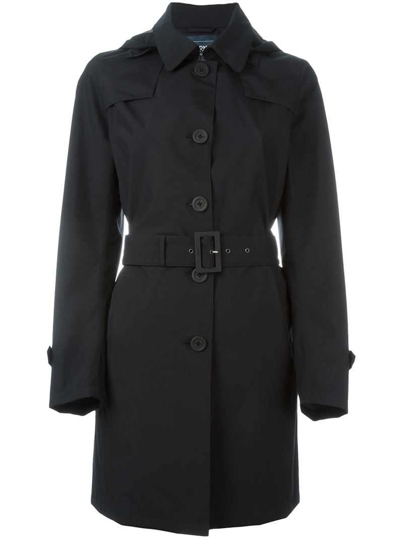 black trench coat with hood - photo #5