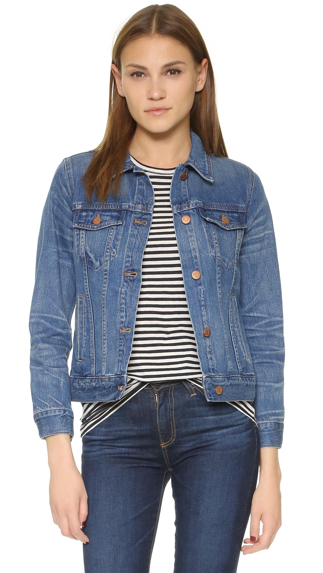 Madewell Denim Jacket in Blue | Lyst - photo#4