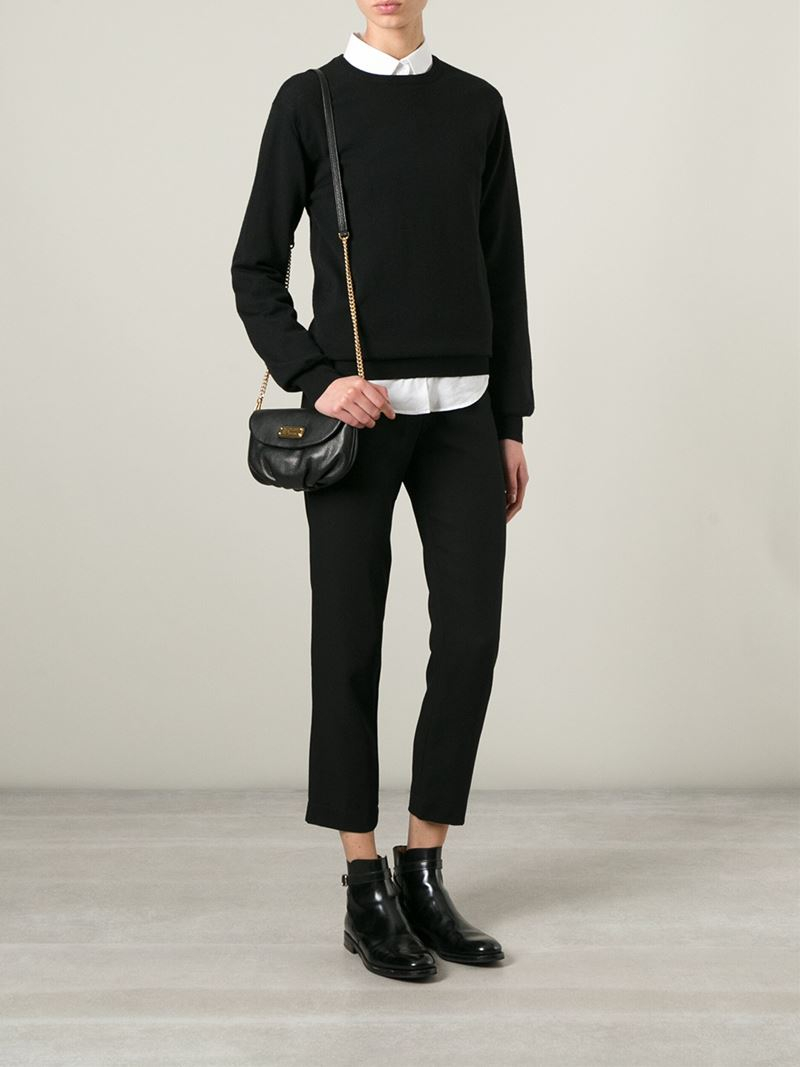 Lyst Marc By Marc Jacobs New Q Karlie Cross Body Bag