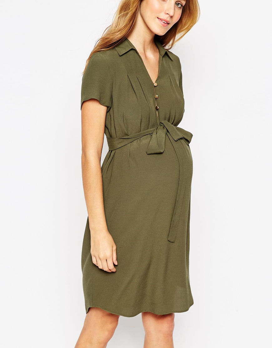 Maternity Shirt Dresses