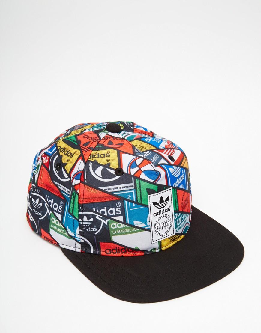 a14ff9ba ... shopping lyst adidas originals snapback cap in blue for men 472da 58c0d