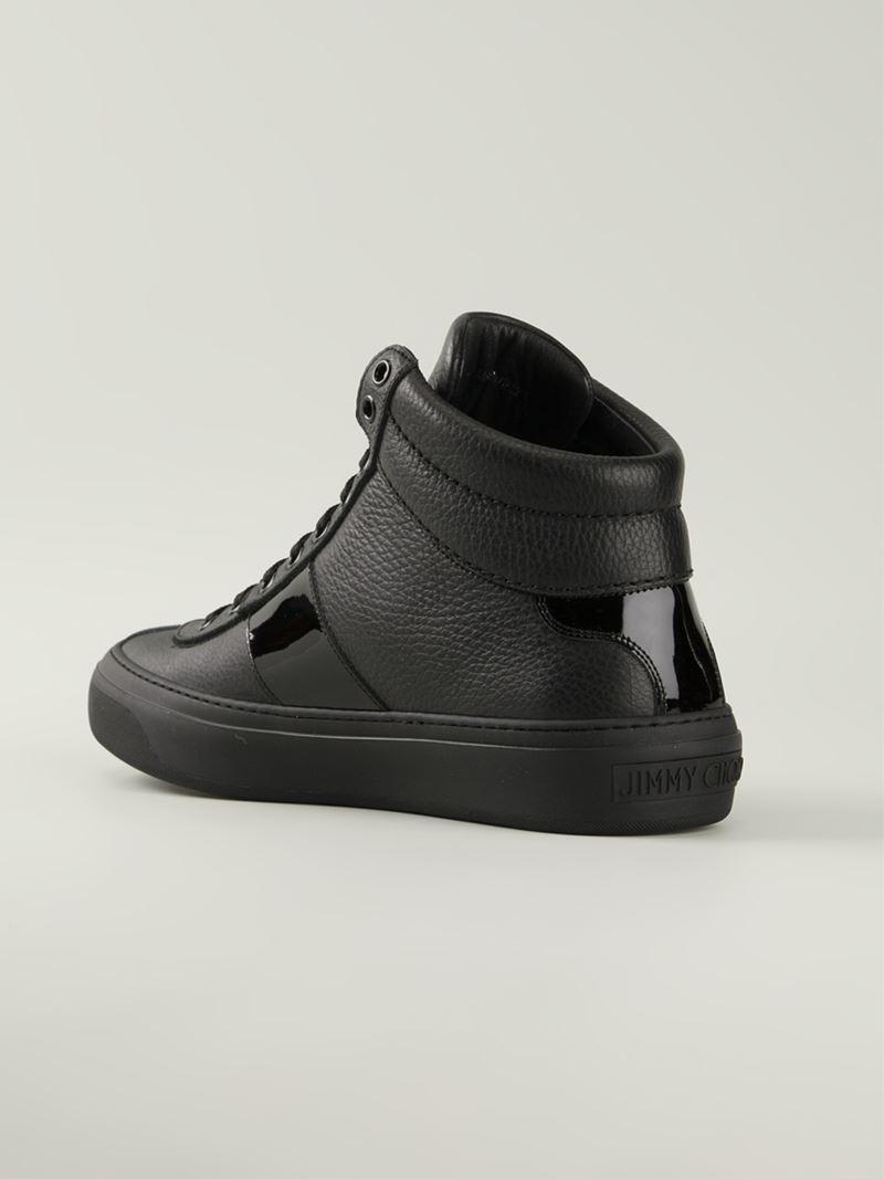 Jimmy Choo Belgravi' High Top Sneaker (Men)