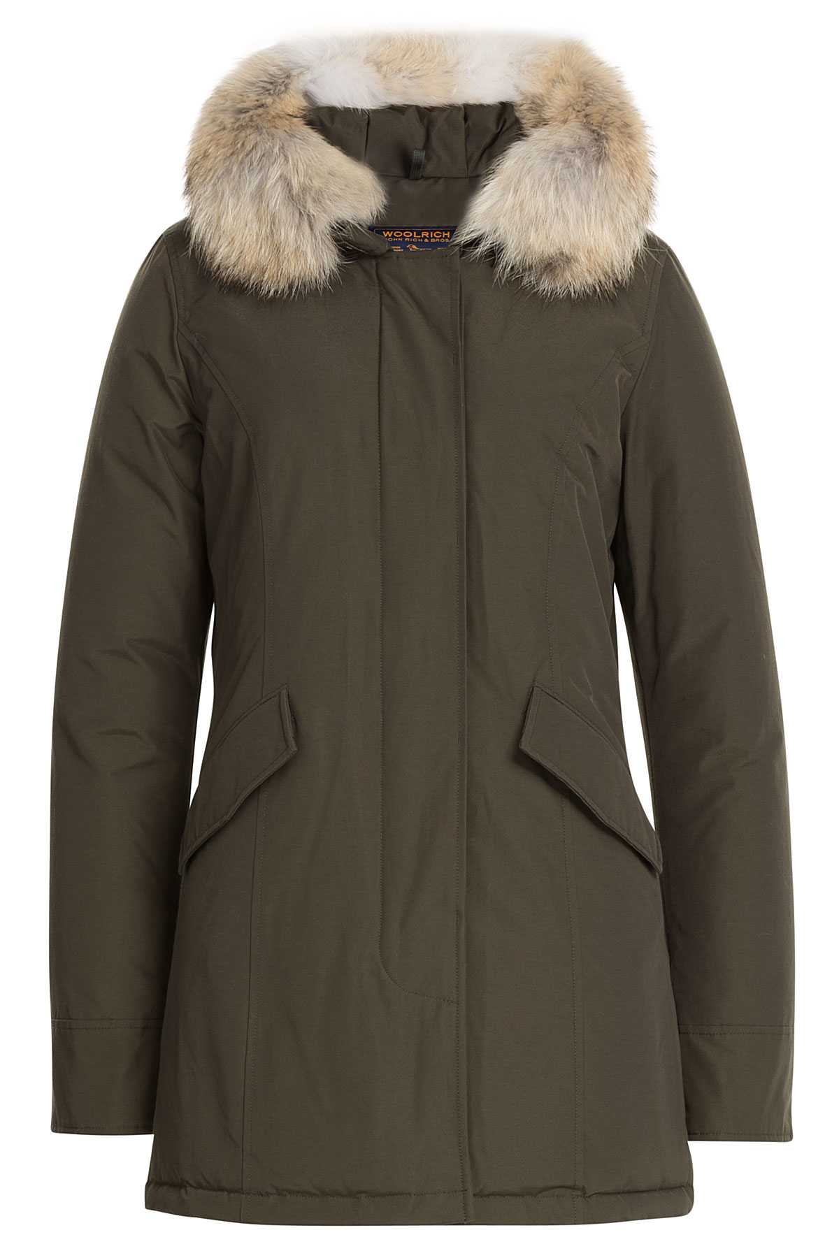 Woolrich Arctic Parka Jacket With Furry Hood