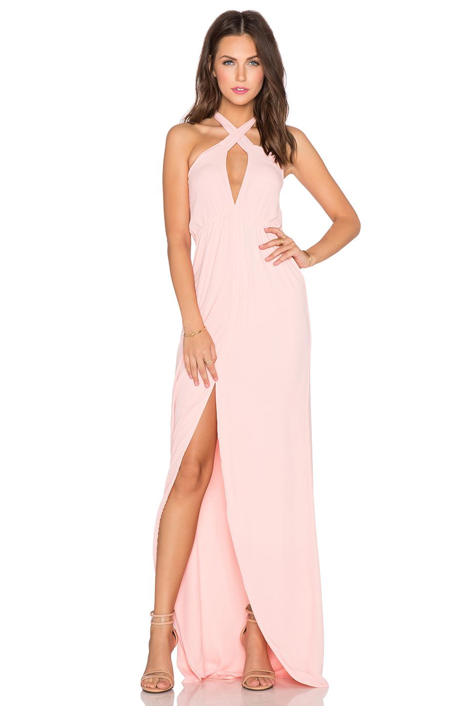 Helena quinn Mariella Maxi Dress in Pink