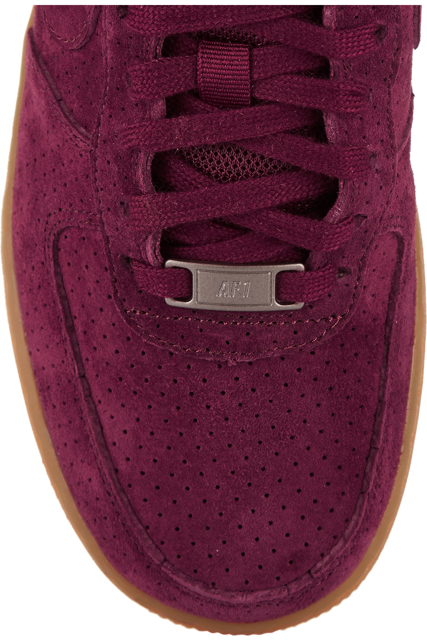 chaussures de sport f00fa d7af3 nike air force 1 burgundy suede