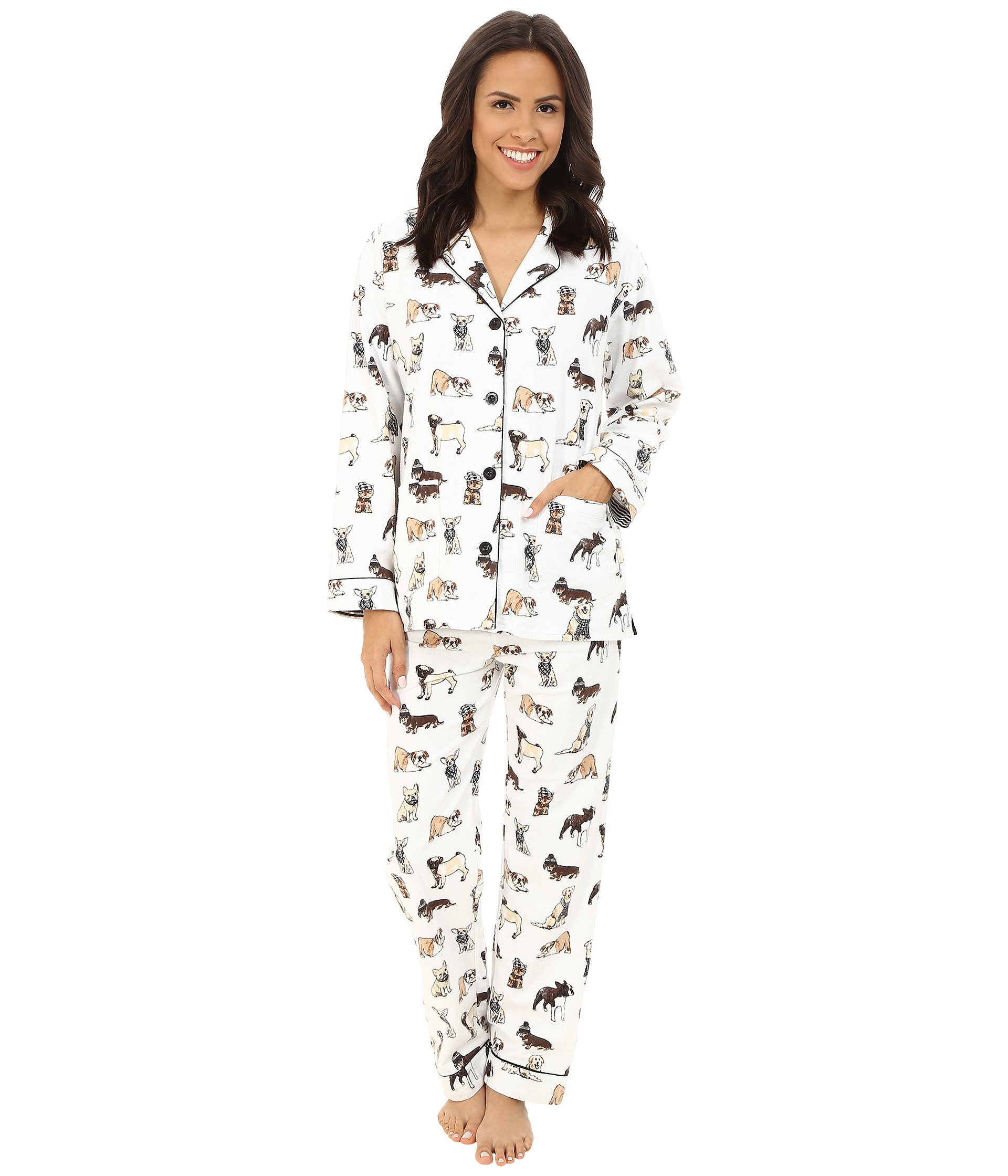Dog Flannel Pajamas Breeze Clothing