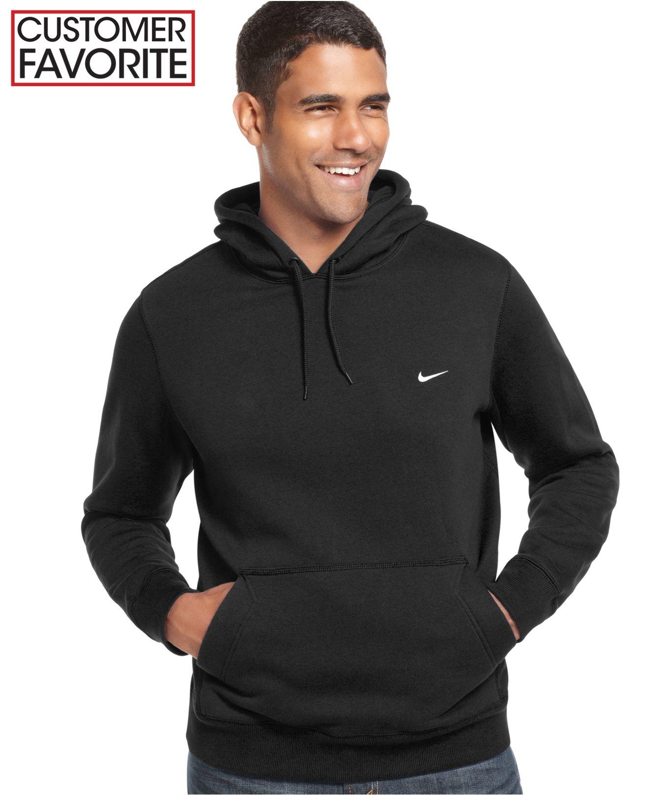 c14c5733c897 Lyst - Nike Men s Classic Fleece Hoodie in Black for Men