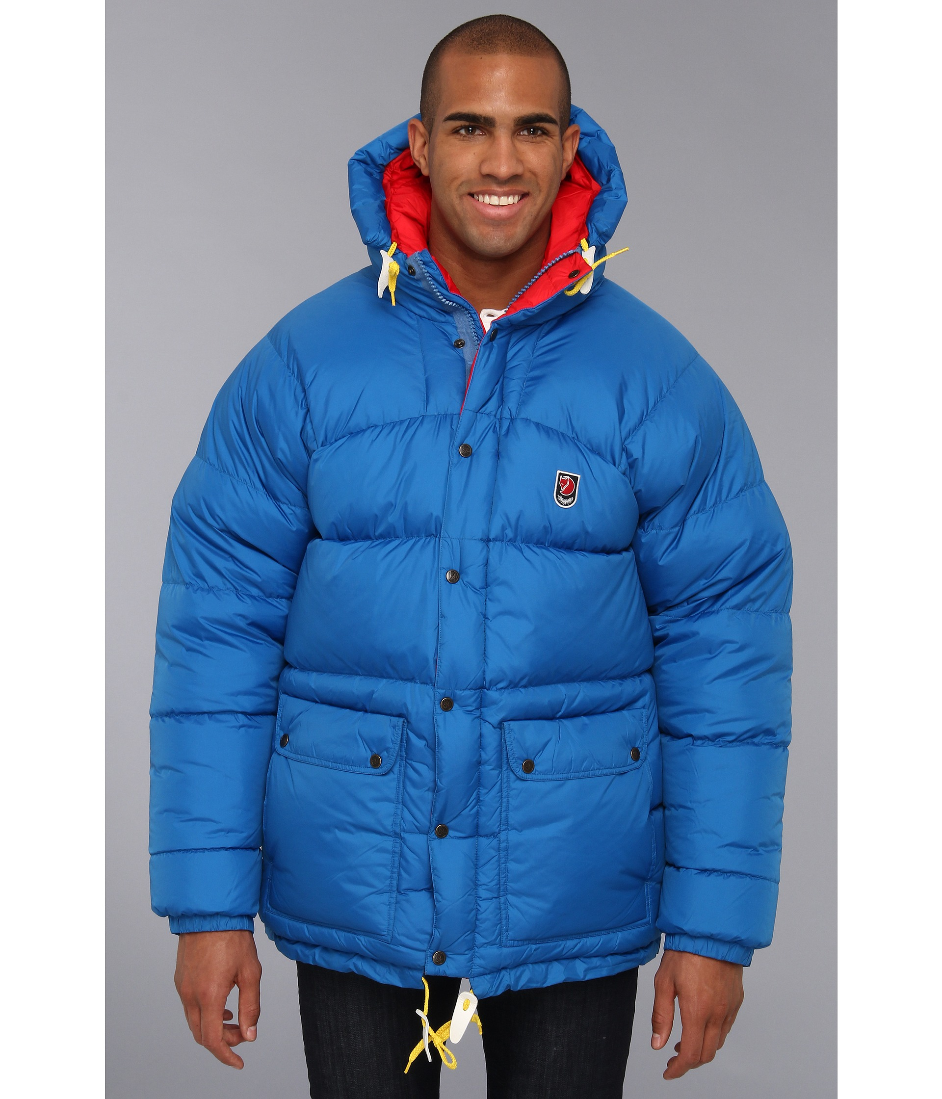 Fjallraven Expedition Down Jacket in Blue for Men | Lyst