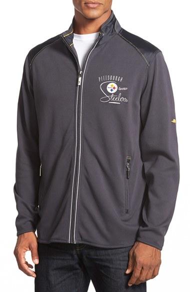 412da5d0 Tommy Bahama 'goal Line - Pittsburgh Steelers' Nfl Full Zip Jacket ...