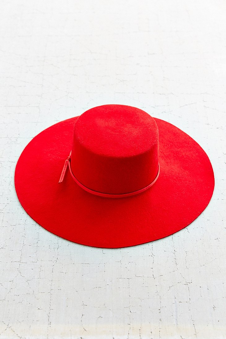 d65174448b3d2 ... promo code for brixton ally hat in red lyst c06d5 832f2