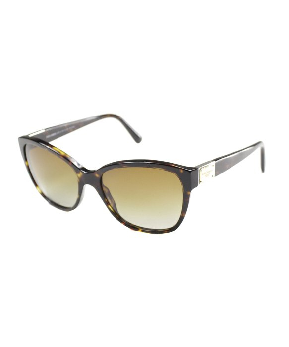 Dolce And Gabbana Sunglasses Foldable  dolce gabbana dg 4195 502 t5 havana cat eye sunglasses brown