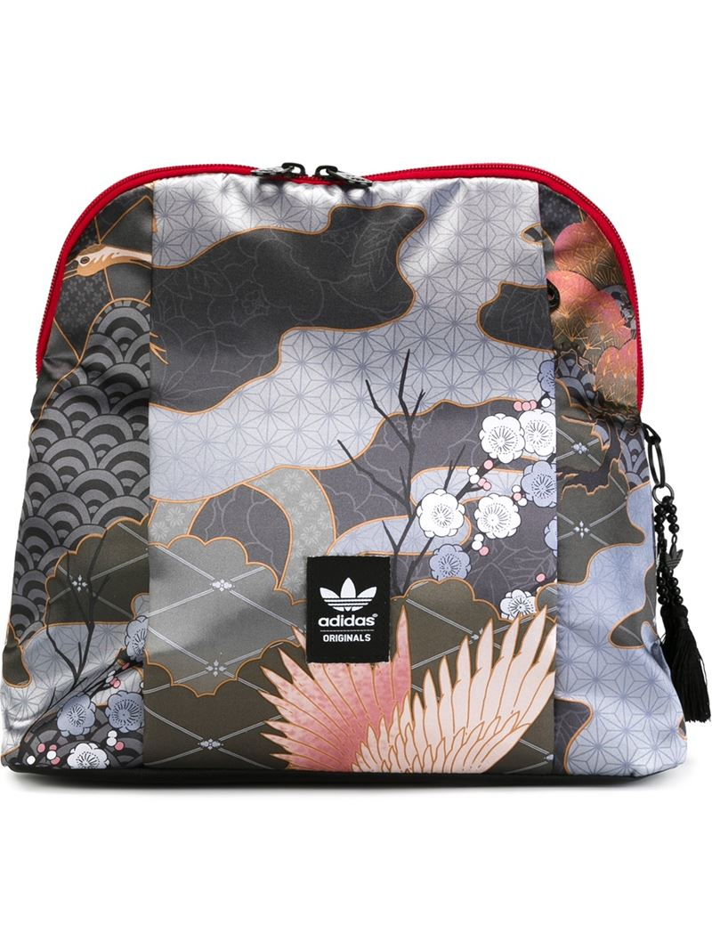 Lyst - adidas Originals   X Rita Ora  Multipatterned Backpack bbe74a151b
