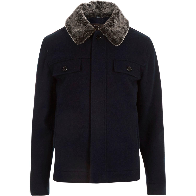 River Island Fur Jacket   Sleeves