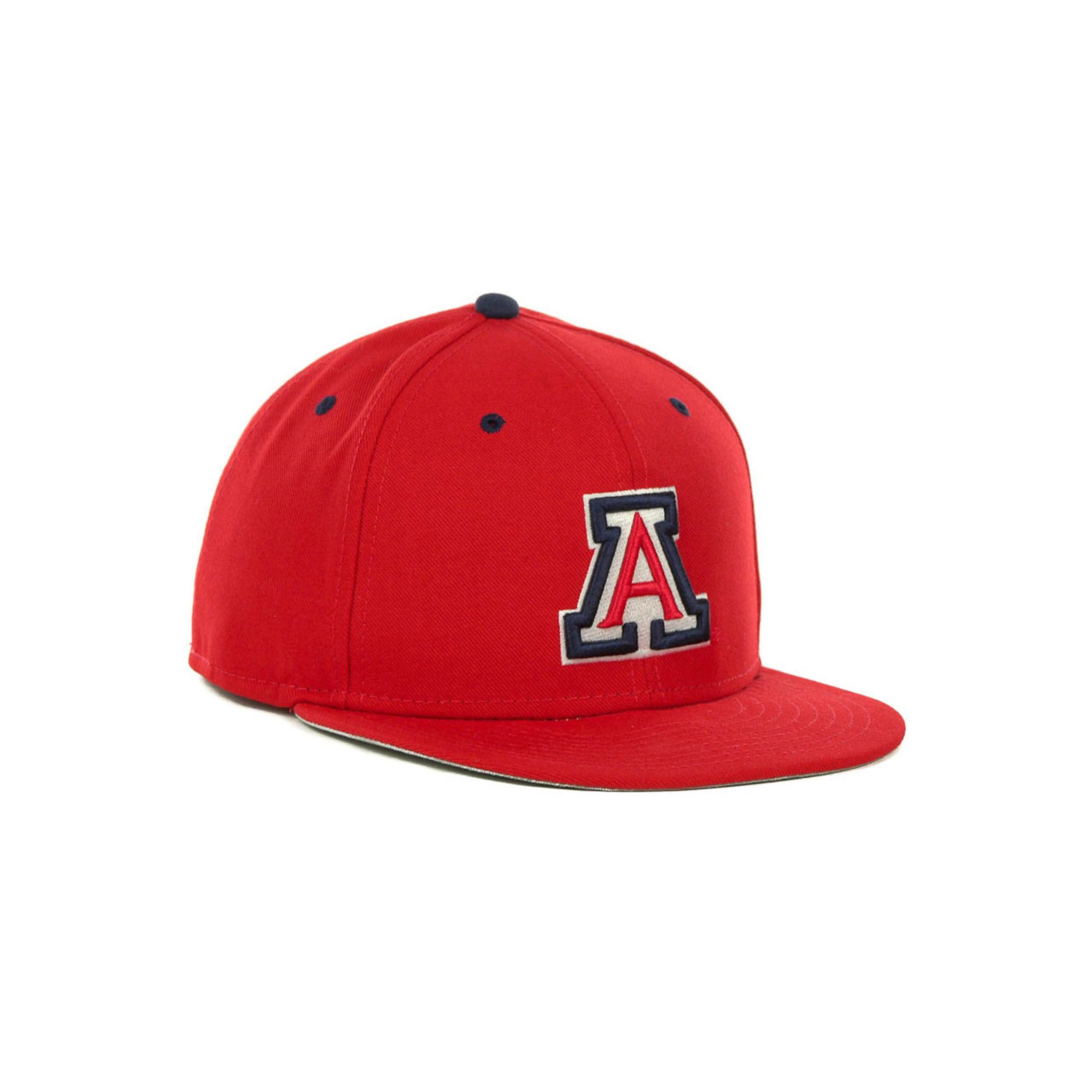 new product 33f29 6a525 ... order lyst nike arizona wildcats true college fitted cap in red for men  b2b83 d655f