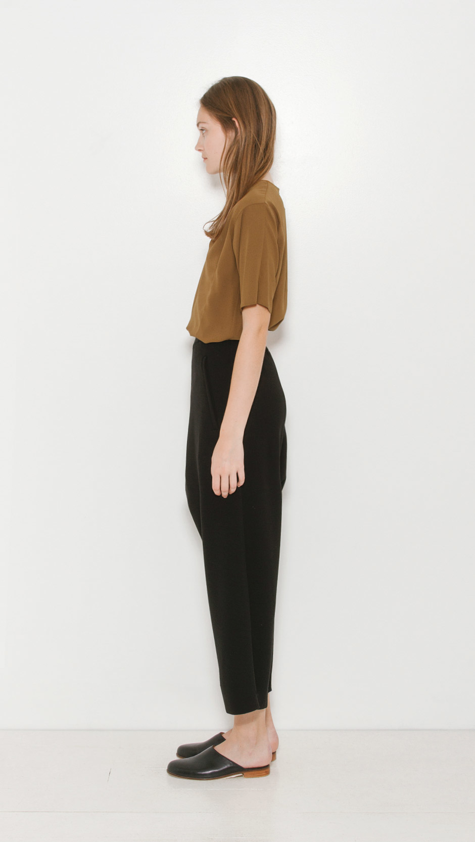Lyst mm6 by maison martin margiela structured drop pant for Mm6 maison martin margiela