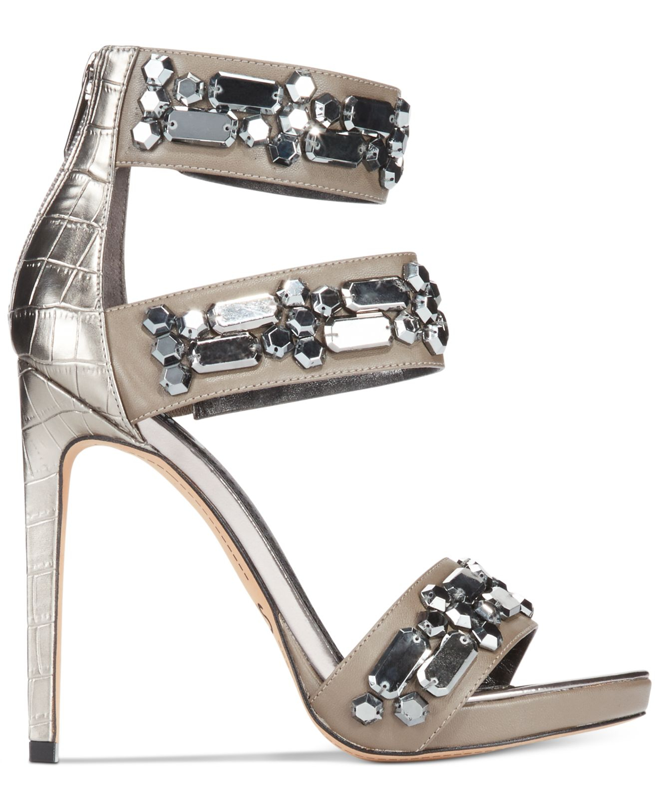 5dfd7e080e5eb8 Lyst - Circus by Sam Edelman Lola Platform High Heel Evening Sandals ...